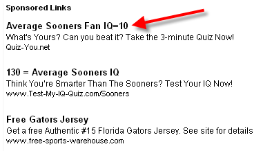 Sooner Fan IQ